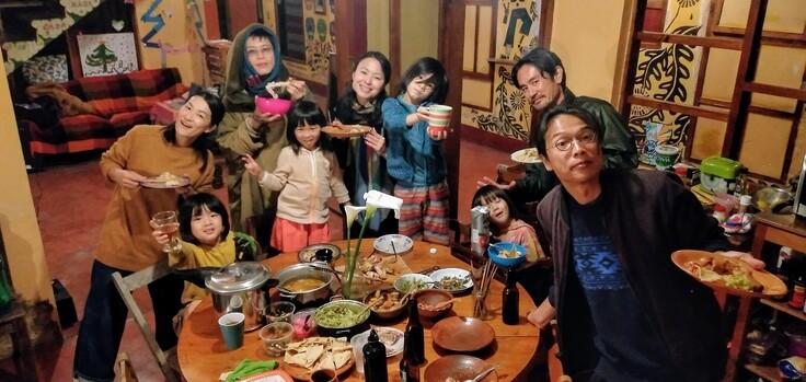 カサカサメンバーの旅立ちパーティー