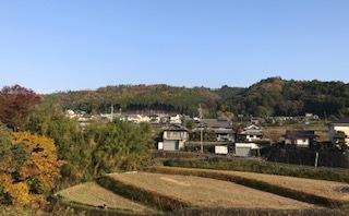 笹部駅から見た風景