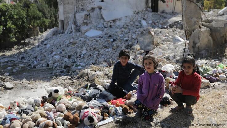 シリアの子どもたち