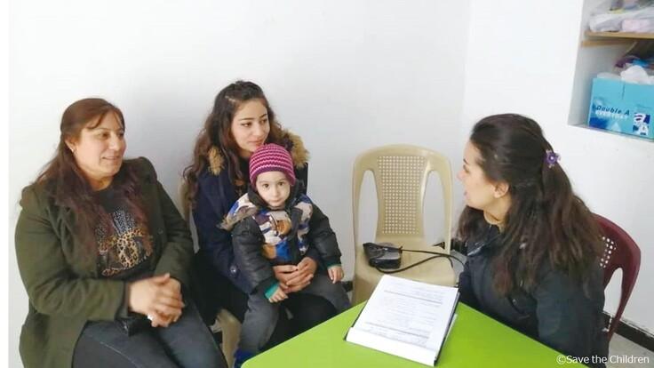 シリア危機への支援について