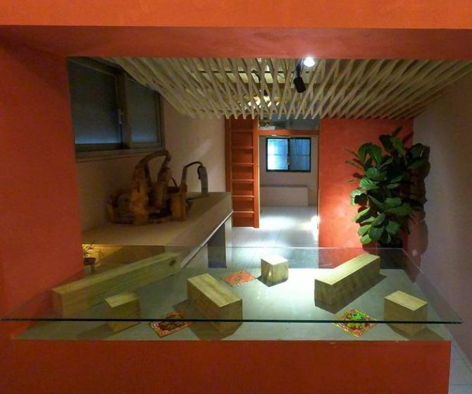 台北のアートスペース『空屋』