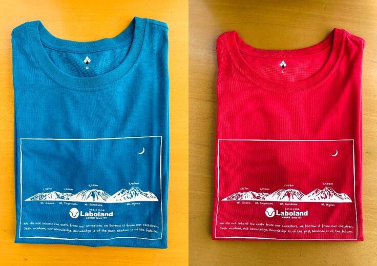 Tシャツ2枚写真
