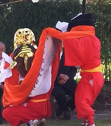 聖神社麒麟獅子