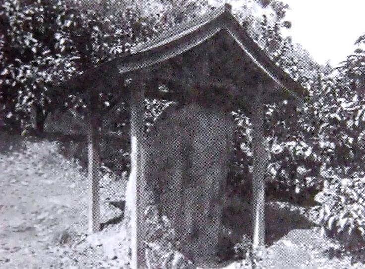 発見時の墓所