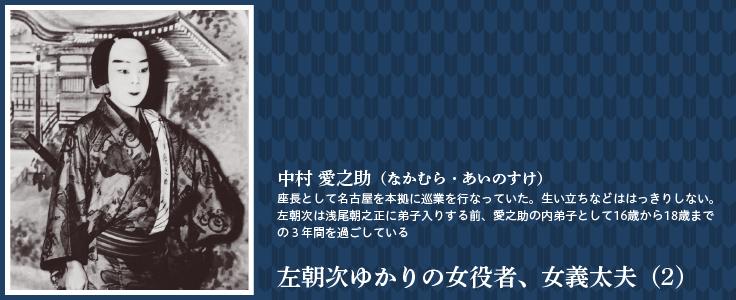 左朝次ゆかりの女役者、女義太夫(2)