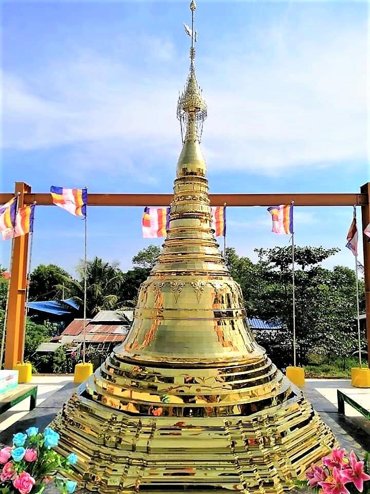 シェータゴンパゴダ形仏塔