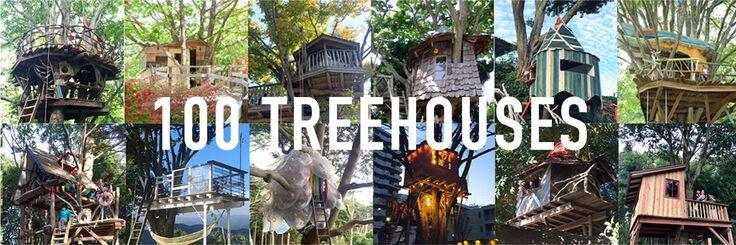 東北に100のツリーハウスをつくろう!