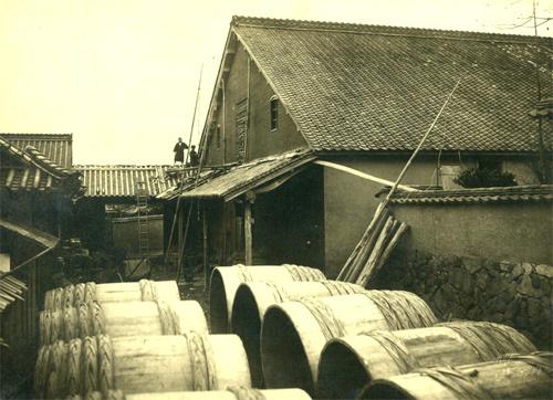 真備の旧酒蔵