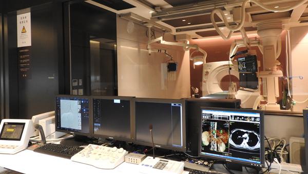 IVR-CT室