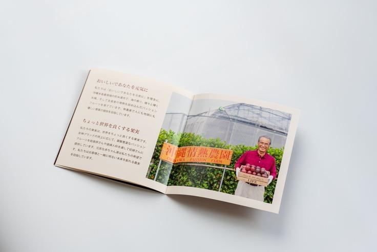 沖縄情熱農園_パンフレット_農園紹介