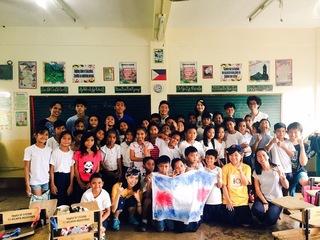 フィリピンの子どもたちに海外の文化を教えたい!!