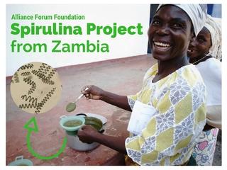 「藻」が世界を救う?ザンビア産スピルリナで、栄養革命を!