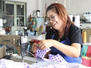 タイ最大のスラム発のブランドを立ち上げ現地の女性を応援したい