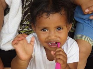 トンガ王国で子どもたちのむし歯を減らして笑顔を増やしたい!