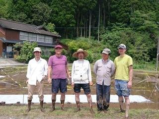 完全無農薬のお米を湧き水だけで育てる村を作りたい。