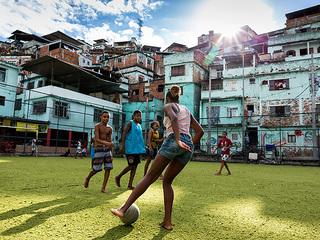 リオデジャネイロのスポーツ施設を子供たちの学び舎にしたい