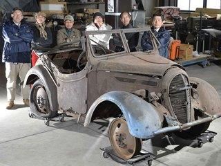 70年の時を越えて、幻の国産車「くろがね四起」復元計画始動!