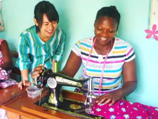 ベナン初の浴衣工房~女性が輝くアフリカ布のものづくりを~