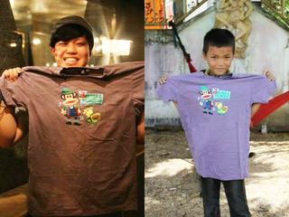 想いが詰まったTシャツをフィリピンの被災者キャンプに届けたい!