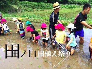 限界集落田ノ口で、田植え祭りを~荒廃する田畑の活性化を。