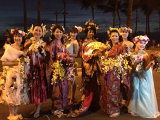 ホノルルフェスティバルで日本の和とお花を伝えたい!