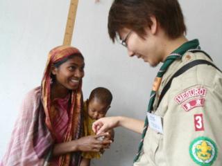 ボーイスカウトのバングラデシュ支援・プロジェクト