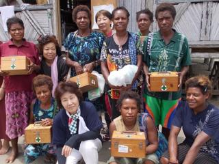 患者が1/10に!パプアニューギニアのママに救える命を託したい