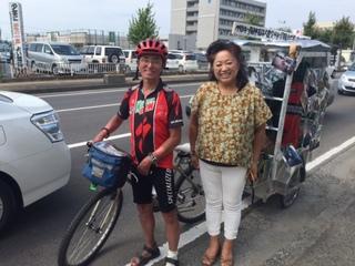 涙を流し喜ぶ人がいる限り阪神淡路大震災移動写真展を続けたい!