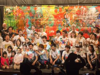 原爆72年目の広島で、アートでつながり祈るイベントをつくりたい