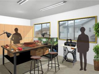 職人の町八尾に、未来の革職人が自由に使える新工房をオープン!