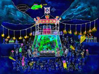 古家電楽器の祭ばやしで踊る!『電磁盆踊り大会』を開催したい!