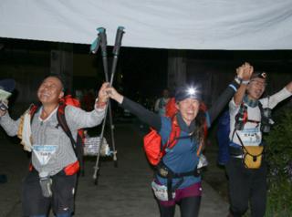 開山1300年を迎える石川県の白山で、テント泊7日間250キロに挑む