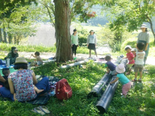 地域の山の木を活かすコミュニティーハウスづくりを応援したい!
