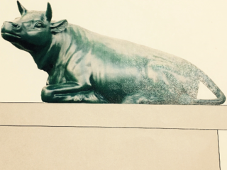 高岡大銅牛を復活し因幡牛の象徴として地域の発展につなげたい。