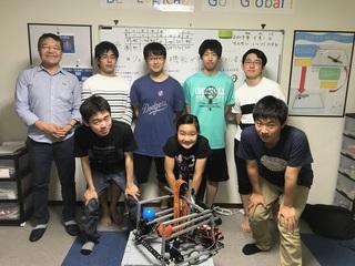 ロボットの世界大会で海外チームと連携しNo.1を目指したい!