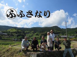 世界遺産登録「花の窟神社」の水稲を復活させ、後世に残したい。