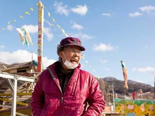 岩手県越喜来にある不思議な建物「潮目」の写真集をつくりたい!