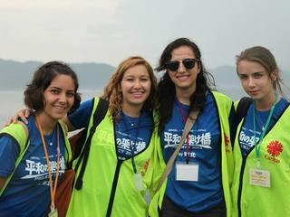 イスラエル・パレスチナと日本の若者が被災地でボランティア!