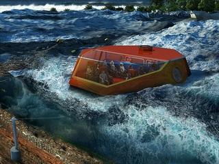 沿岸地域に安全な津波救命カプセルをおきたい!