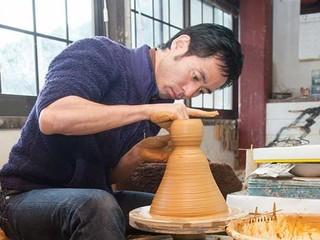 小石原焼 窯元復興へ 九州豪雨災害で泥に埋もれた窯元の挑戦