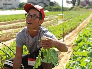荒れた土地は、俺が拓く!若者と放棄地をつなぎ、農業を次世代へ