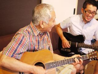 定年退職前後の男性に向けたギター&カルチャー教室を作ります!