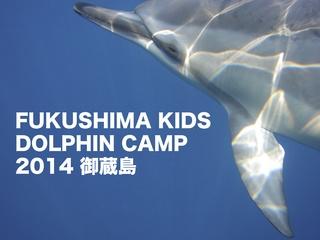 福島のこども達に自由なイルカの世界を感じて欲しい!