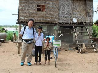 カンボジアの通学困難な子ども達に自転車をプレゼントしたい!