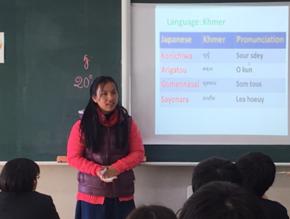 【第二弾】カンボジア学生を招待し、日本の学生と英語で交流を。
