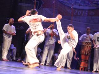 ブラジルの伝統武芸「カポエィラ」の昇段式を開催したい