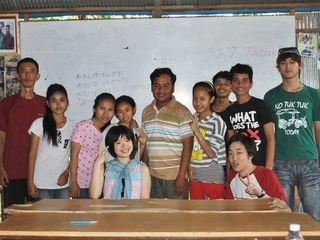 カンボジア人ブライ君のガイドになる夢のために日本に招待したい