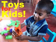 遊ぶ機会がないスリランカの子どもたちにおもちゃを贈りたい!