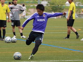 大学生の7人制サッカー(ソサイチ)日本選抜が世界で戦う!
