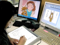 漫画を通じ聴覚障がい者の生活と聴導犬の役割を知ってもらいたい